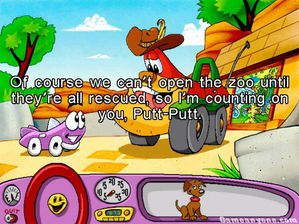 Putt Putt Saves The Zoo : Putt saves the zoo playthrough part youtube