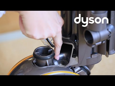 Dyson DC40 upright vacuum - Checking the cleaner head and  base for blockages (AU)