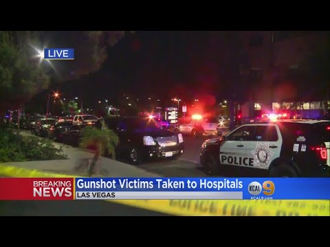 Gunshot Victims Taken To Hospitals After Shooting At Country Music Concert In Las Vegas