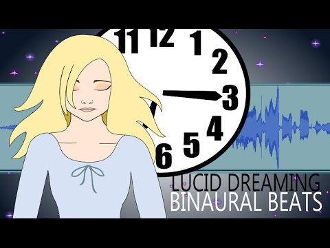 Binaural Beats for Lucid Dreaming with Meditation Music – Brainwave Entrainment for Lucid Dreaming