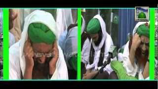 Maulana Ilyas Qadri is crying while listening Kalam of Alwida Alwida Mahe Ramzan Naat