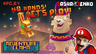 Adventure Llama Gameplay (Chin & Mouse Only)