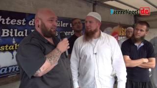 Pierre Vogel; David hat keine Angst vor dem Islam