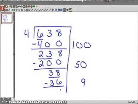 Partial Quotient Division