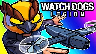Watch Dogs Legion Funny Moments - Handheld Predator Missiles?!