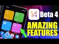 - iOS 14 Beta 4 - Amazing New Features !