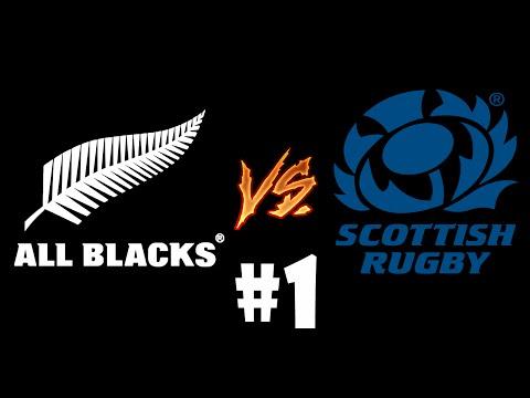 RUGBY 06 UNIVERSE LEAGUE : Round 1 Match 1 – All Blacks vs Scotland