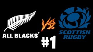RUGBY 06 UNIVERSE LEAGUE : Round 1 Match 1 - All Blacks vs Scotland