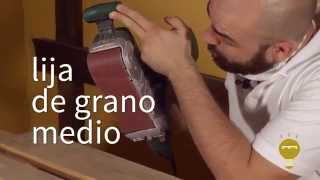 Cómo lijar un palet rápidamente | Re-Crea Palets #1