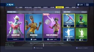 Nouvelle - Fortnite Disco Diva Skin Must Buy