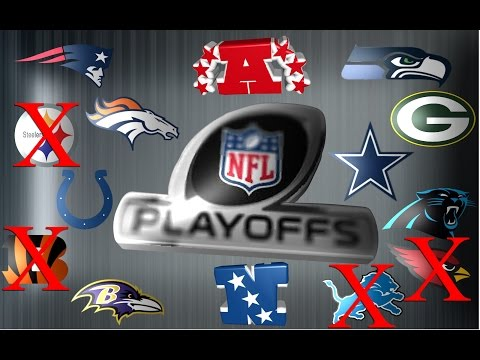 2014 - 15 NFL Divisional Round Weekend Saturday Preview
