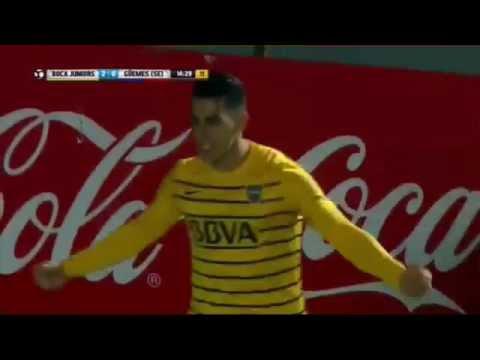 Boca 4 - Güemes (SE) 0 Gol Pablo Pérez / 32avos de final - Copa Argentina 2016 Resumen