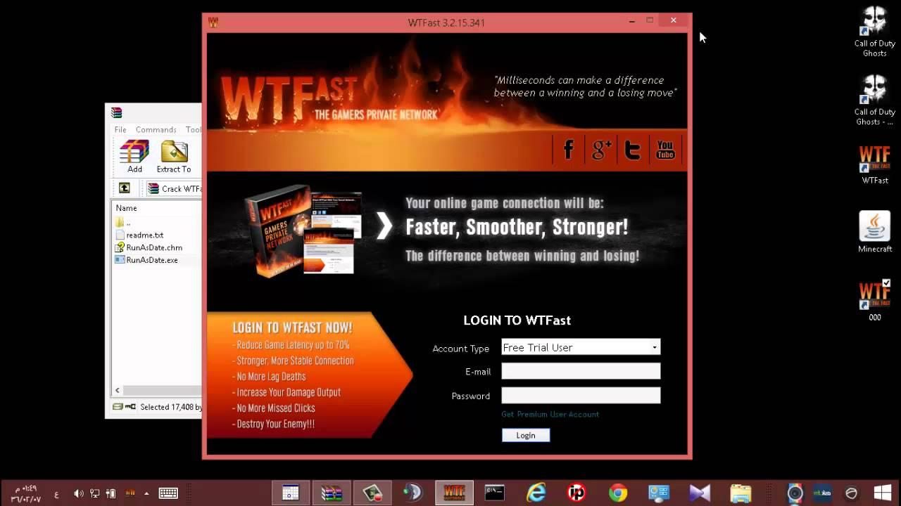 كراك برنامج WTFast لتقليل البنق | FunnyCat TV
