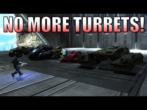 Halo Reach - How To Remove Turrets From Vehicles In Forge