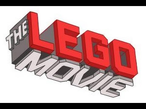 How to draw The Lego Movie Logo - YouTube