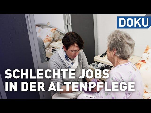 Warum? Schlechte Jobs in der Altenpflege | doku