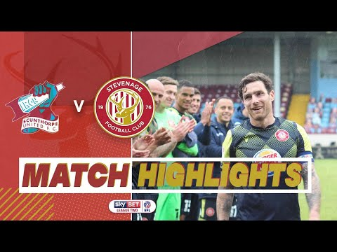 Scunthorpe Stevenage Goals And Highlights