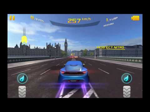 Monday heat event in asphalt 8 (London|nano flow cell quantino)