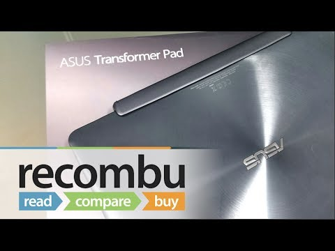 Asus Transformer Pad TF701T unboxing video