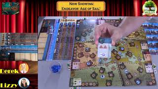 Endeavor Age of Sail | Board Game Spotlight Livestream | Full Play Through