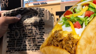 TACO BELL DOUBLE CHALUPA GONE WILD!!!