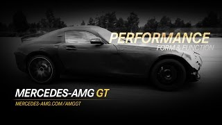 The New Mercedes-AMG GT: Form & Function - Performance