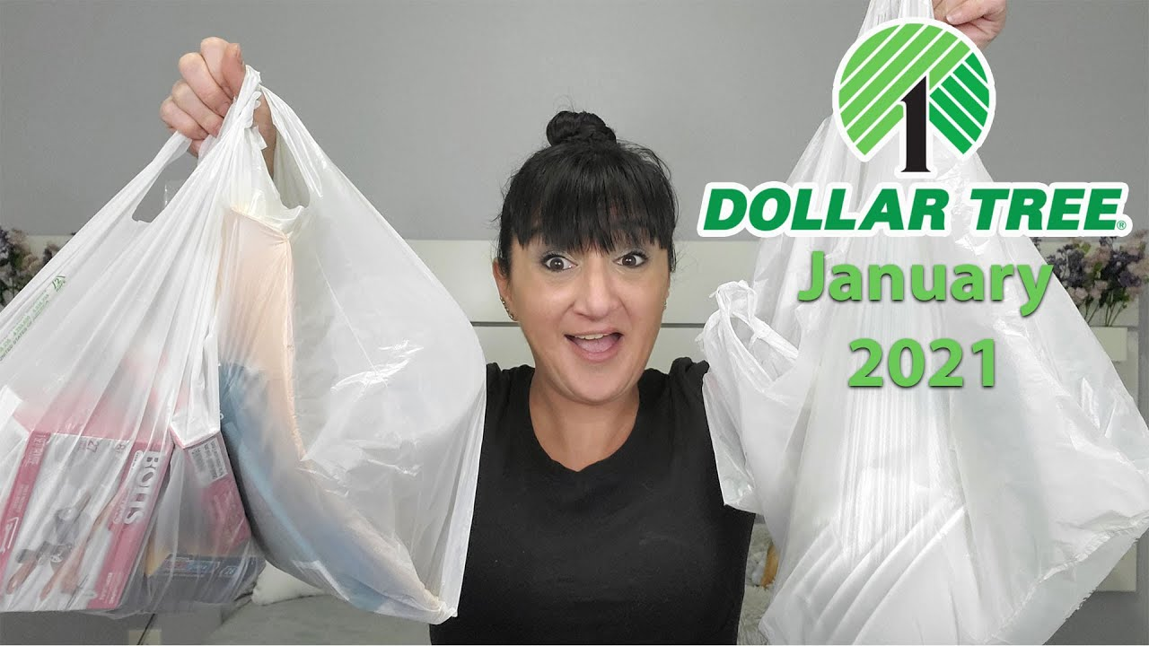 Dollar Tree Haul   January 2021   New Items And Everyday Essentials