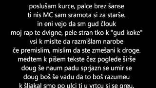 Zlatan Čordić (Zlatko) - K.O. + Besedilo