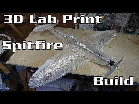 3D Lab Print Spitfire  Mk XVI Build