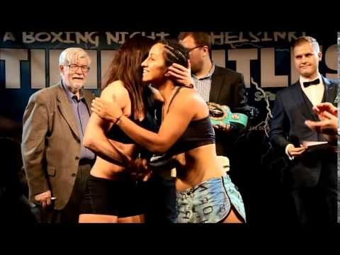 Time for the Titles weight-in 24.4.2015, Helsinki
