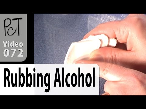 Clean Your Dirty Clay With Rubbing Alcohol Tutorial (Intro Vol-005-4)