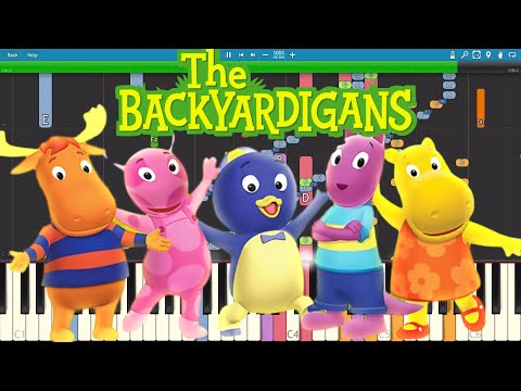 IMPOSSIBLE REMIX - The Backyardigans Theme Song - Piano Cover
