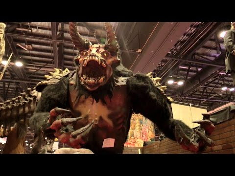 2015 IAAPA Attractions Expo Show Floor HD @60fps