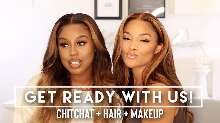 chit chat grwm  chit chat get ready with us ft tashawasha  julia hair  makeup   allyiahsface