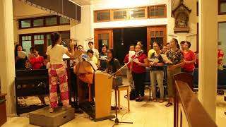 Gladi Bersih Malam Natal 2019   Kor OMK Kumetiran - Hai Mari Berhimpun