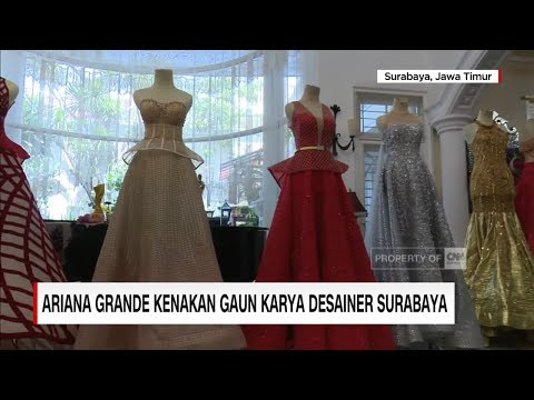 Ariana Grande Kenakan Gaun Karya Desainer Surabaya   CNN ID Update Mp3
