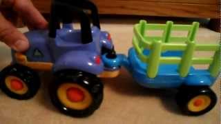 Early Learning Centre Elc Preschool Toy Tractor