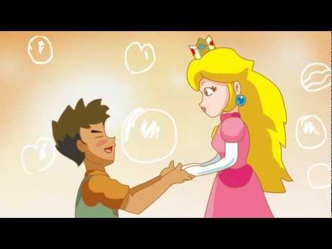 Brock meets Princess Peach