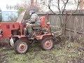 Поделки - Самодельный трактор из ЛуАЗа