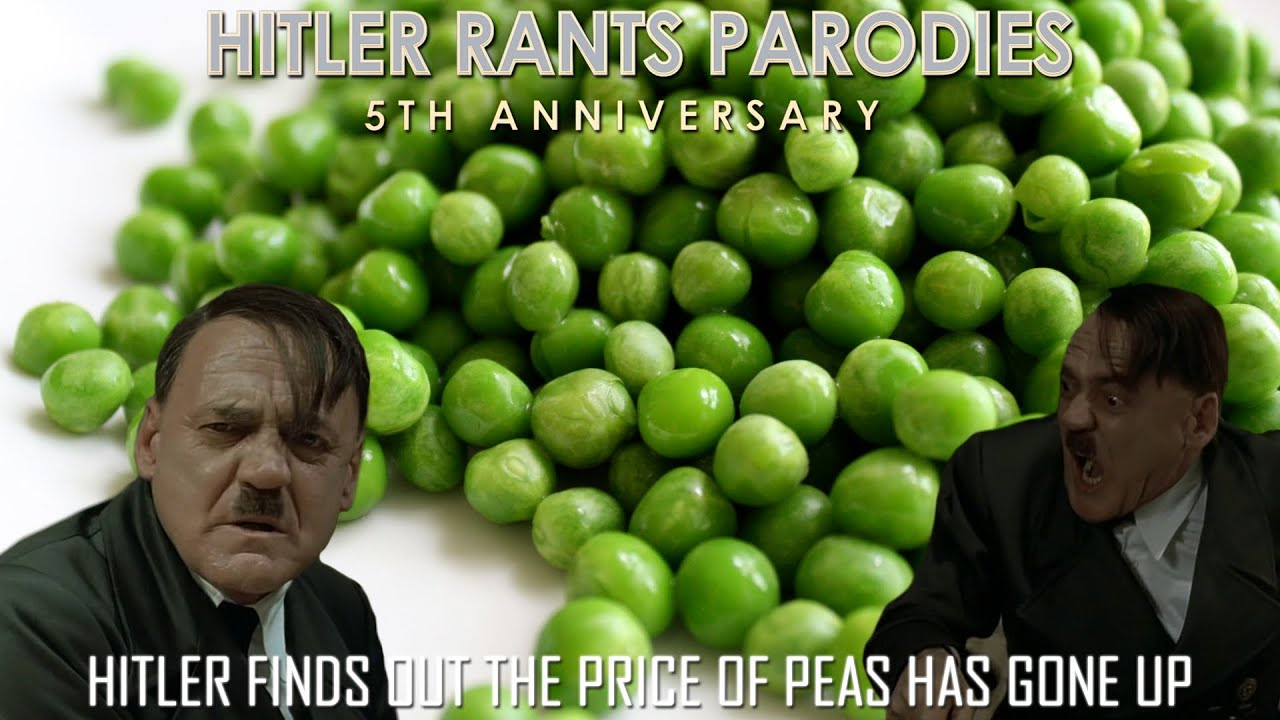 Hitler finds out the price of peas has gone up