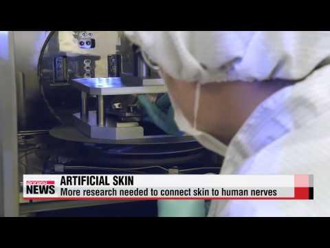 Scientists develop artificial skin that can sense heat, pressure   한국에서 온도, 습도 느