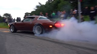 BURNOUTS & INSANE MUSCLE CARS! - Vantaa Cruising 8/2016