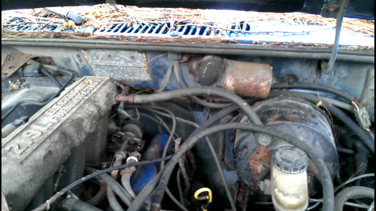 Mustang Engine Diagram 1987 Ranger 2 9v6 Running After 2 Years Youtube