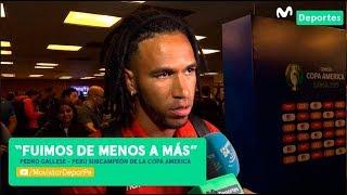 Pedro Gallese analiza el segundo puesto en Copa América 2019 | PERÚ SUBCAMPEÓN