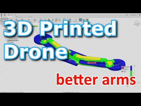 3D Printed Drone - better arm design