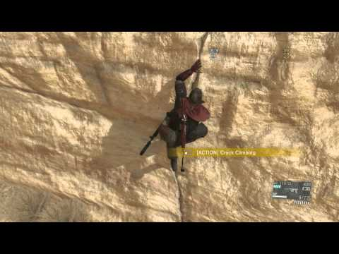 Metal Gear Solid V - Mission 5 Over The Fence: Extract Engineer & Fulton Through Ceiling Sequence
