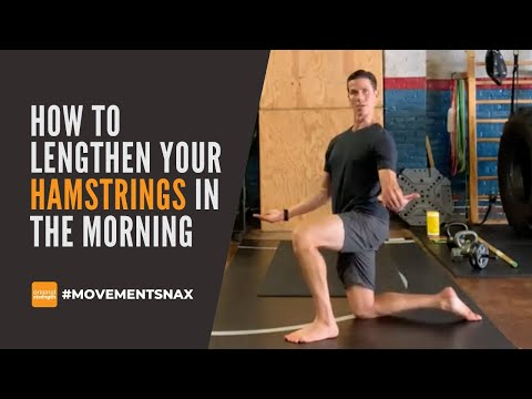 How to Lengthen Your Hamstrings in the Mornings