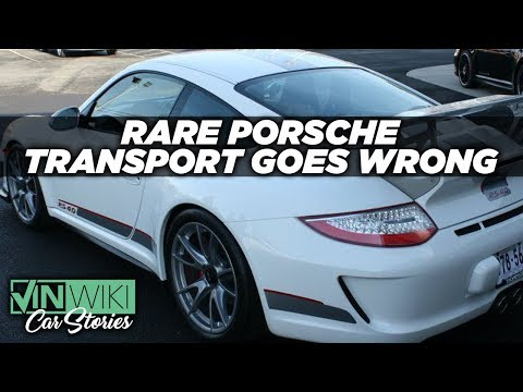 Uninsured Russian Truckers ship a GT3 RS 4.0 and...