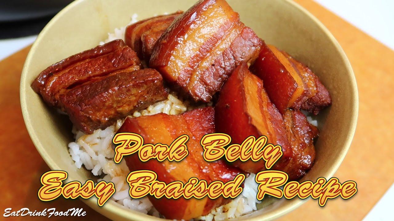 Easy Braised Pork Belly Easy Recipe Eps34 YouTube