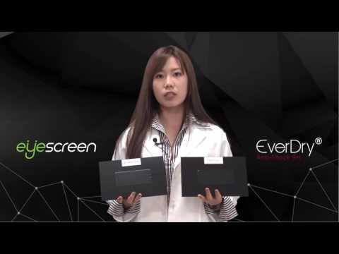EverDry系列|9H抗衝擊保護貼 複合新材料  apple iPad pro、Samsung 型號專用 非玻璃